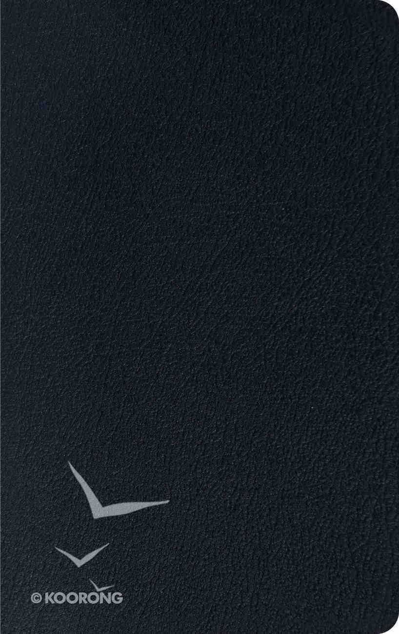 ESV Thinline Bible Black Genuine Leather