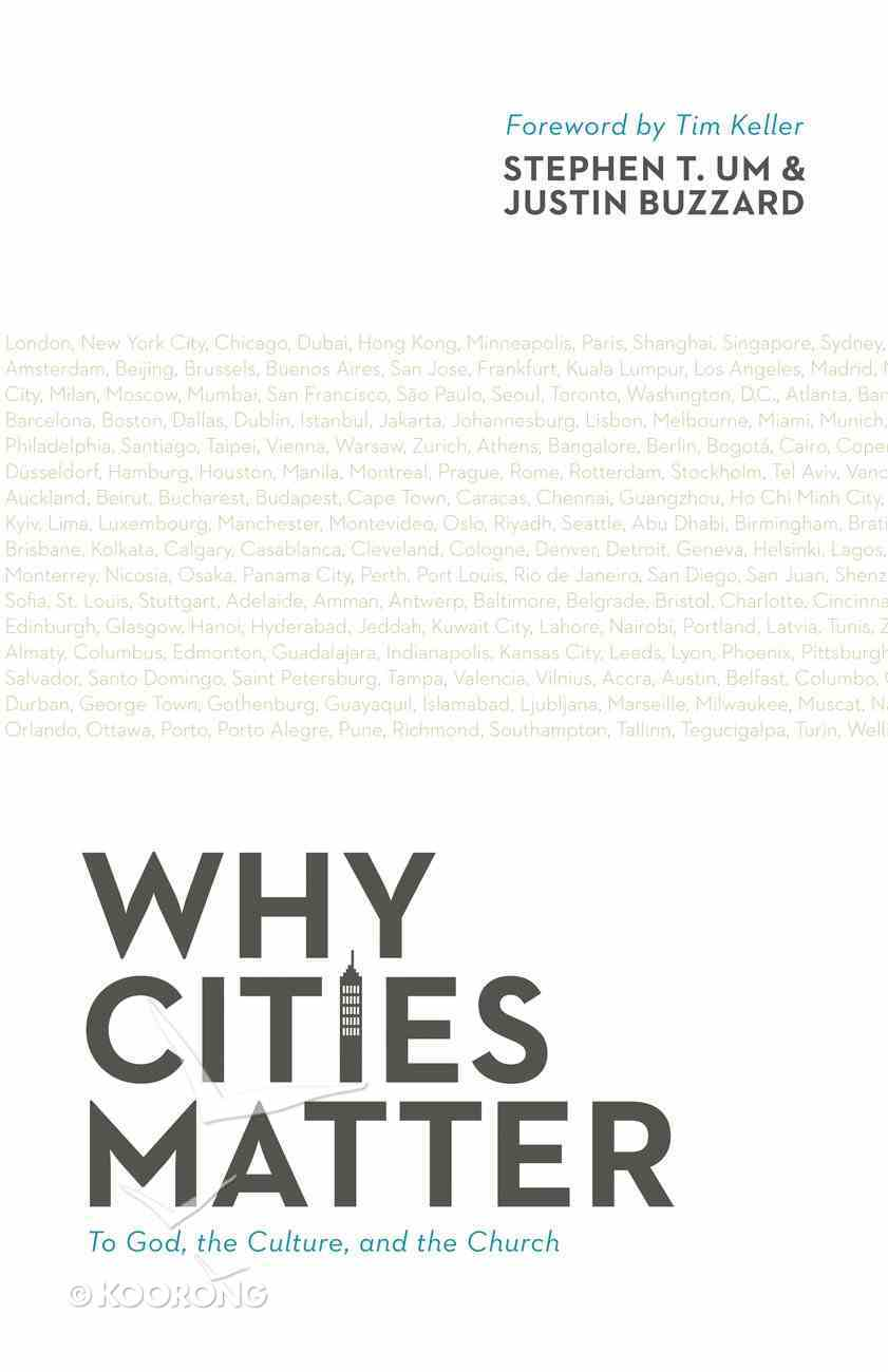 Why Cities Matter Paperback