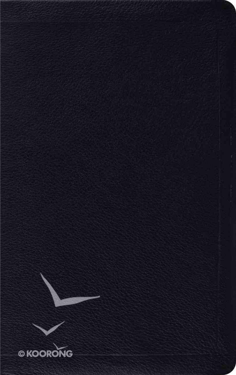 ESV Thinline Bible Calfskin Black Genuine Leather