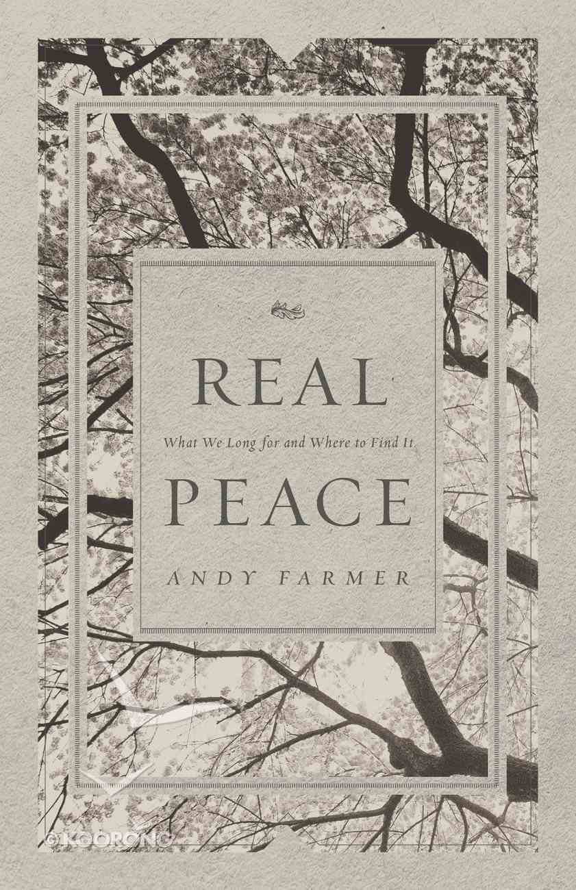 Real Peace Paperback