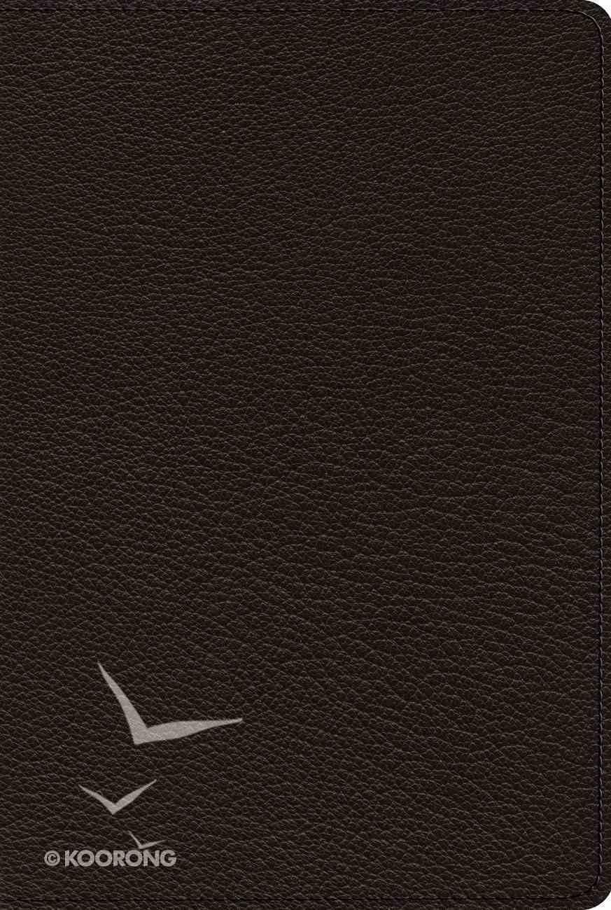 ESV Omega Thinline Reference 75Th Anniversary Edition (Goatskin, Black) Genuine Leather