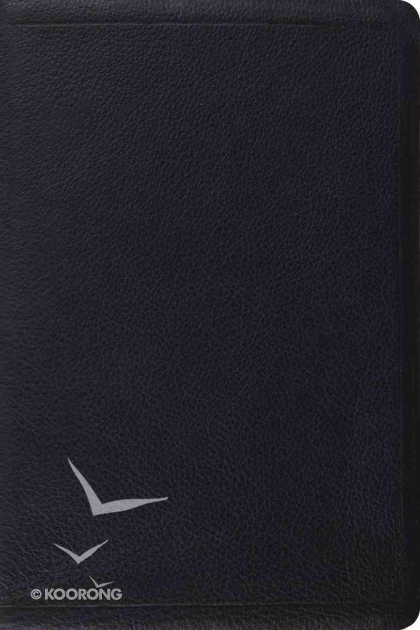 ESV Gospel Transformation Bible Calfskin Black Genuine Leather