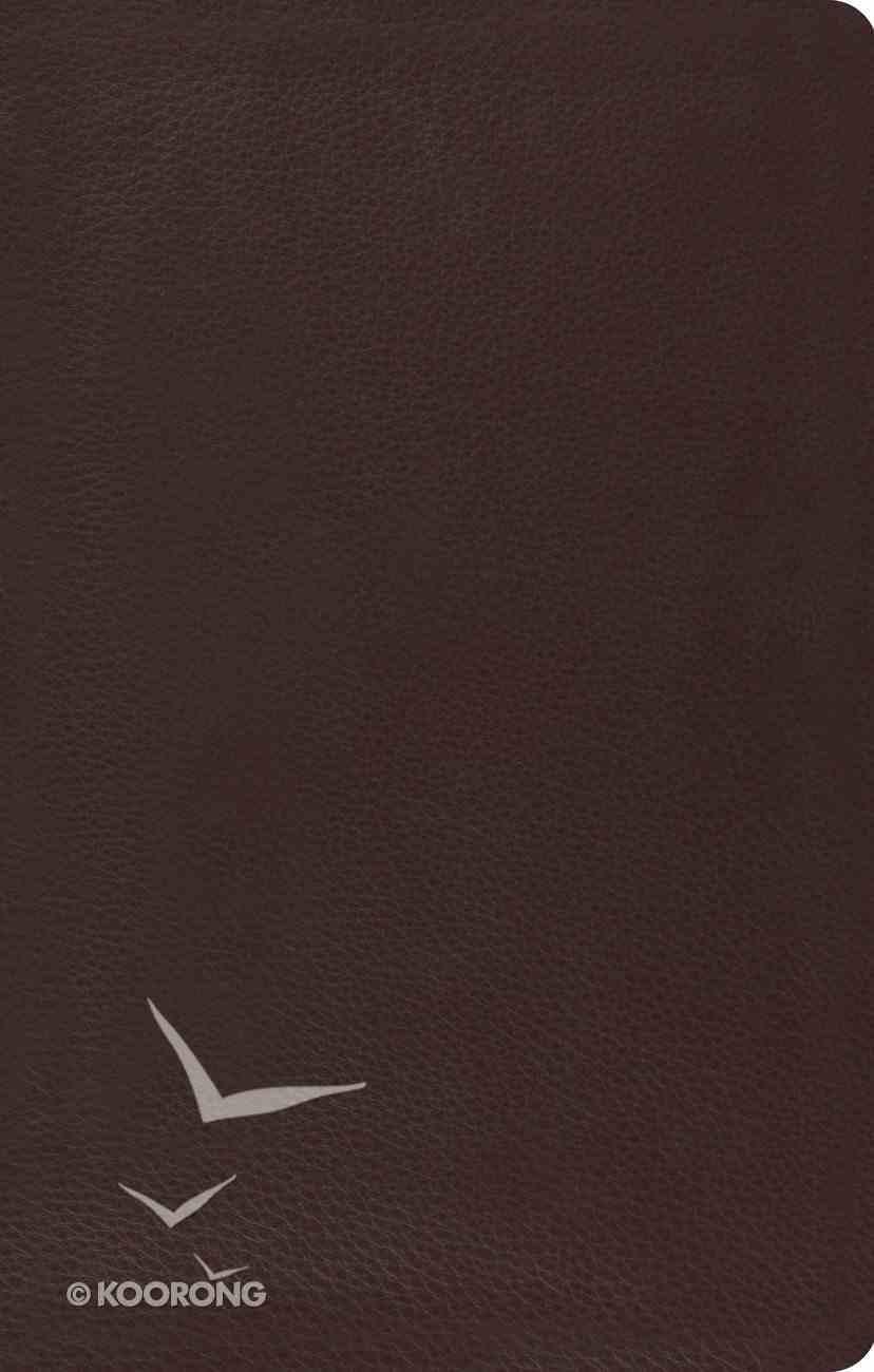 ESV Ultrathin Bible Black Genuine Leather