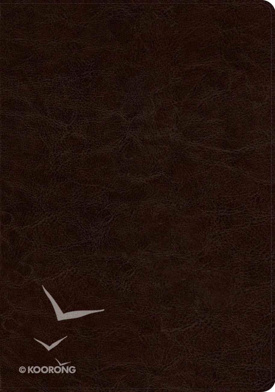 ESV Study Bible Deep Brown Imitation Leather