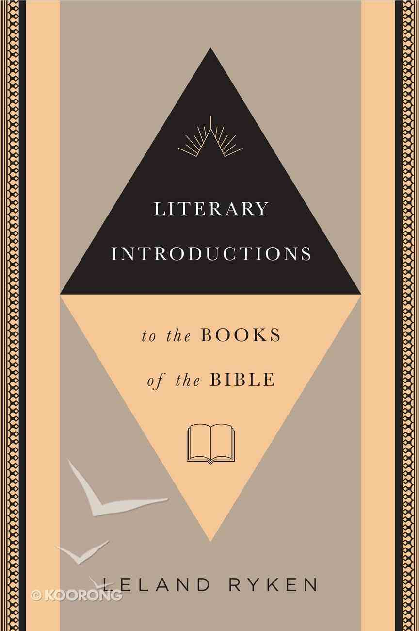 Literary Introductions to the Books of the Bible Paperback