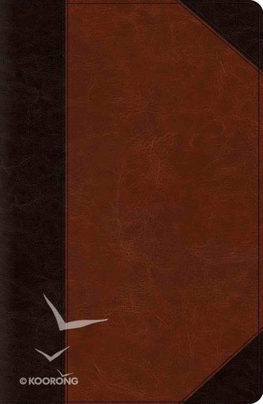 ESV Reference Bible Trutone Brown/Cordovan Portfolio (Red Letter Edition) Imitation Leather