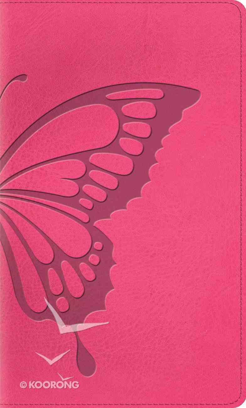 ESV Kid's Thinline Bible Trutone Butterfly Blush Imitation Leather