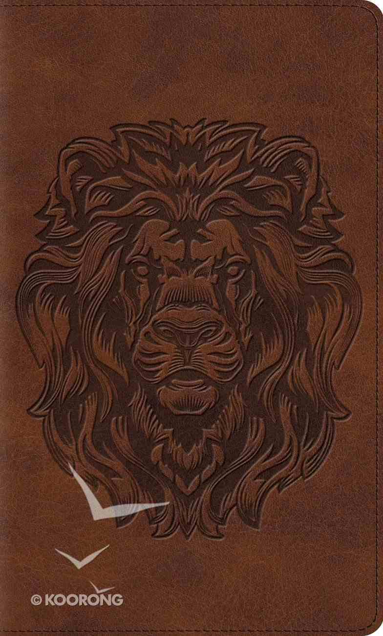 ESV Kid's Thinline Bible Trutone Royal Lion Imitation Leather