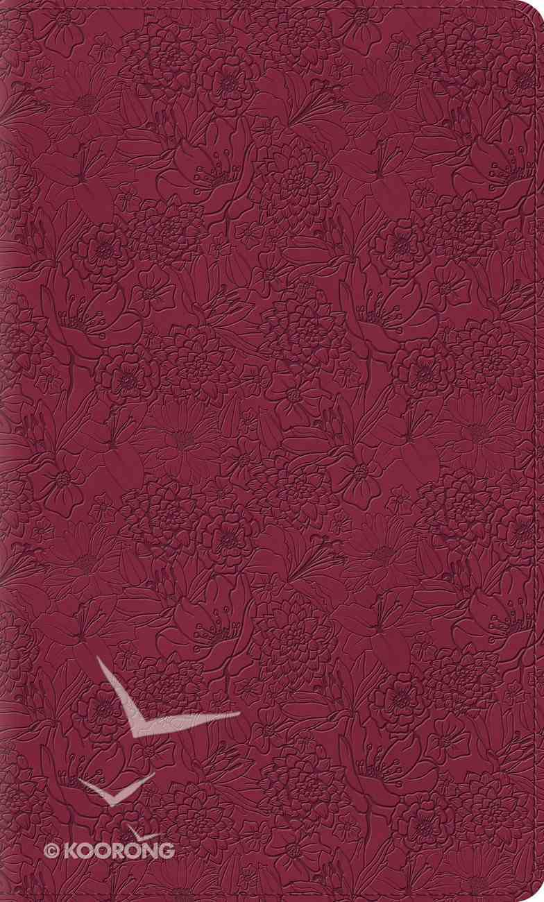 ESV Kid's Thinline Bible Trutone Pink Petals Imitation Leather