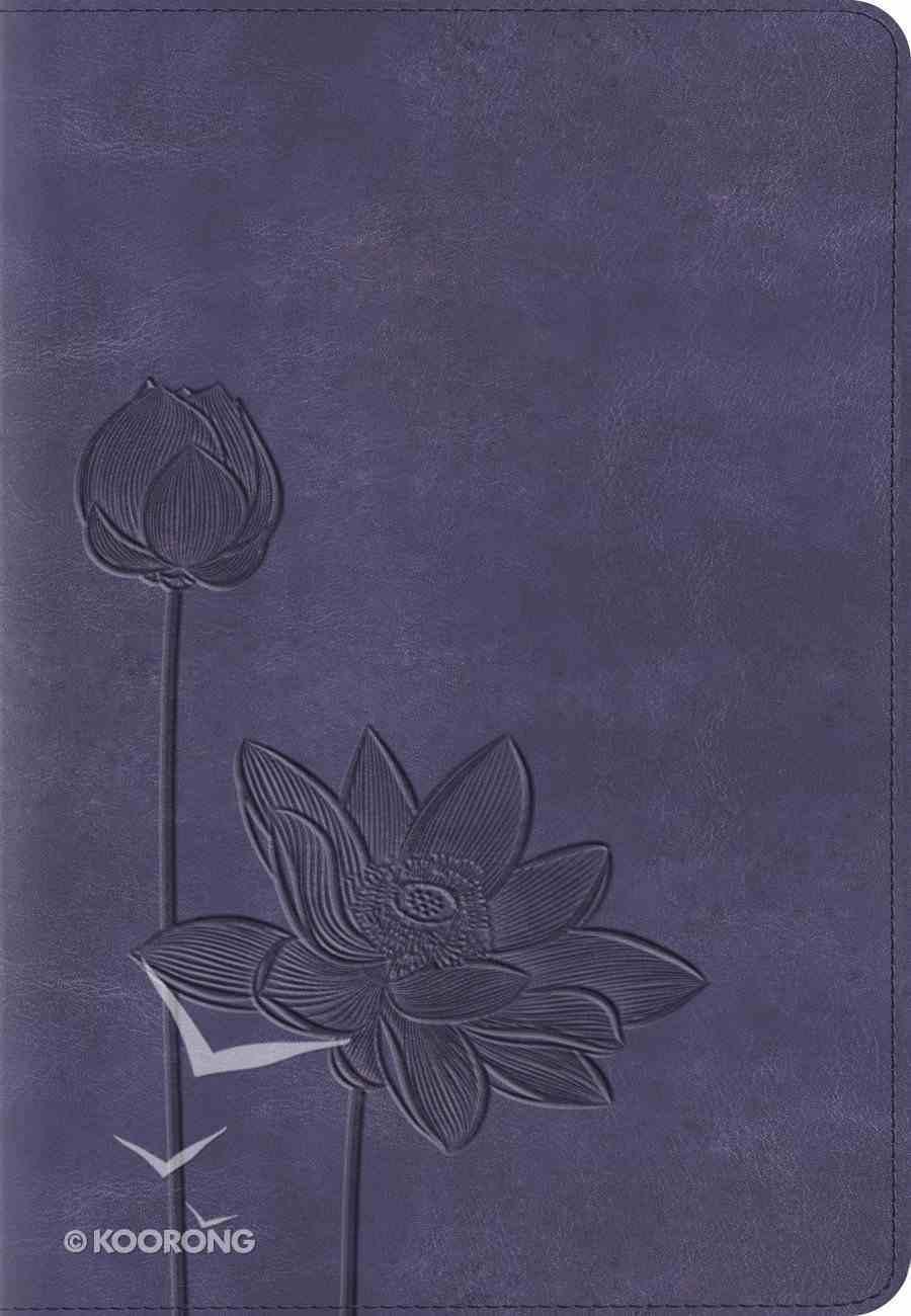 ESV Kid's Compact Bible Trutone Lavender Bloom Imitation Leather