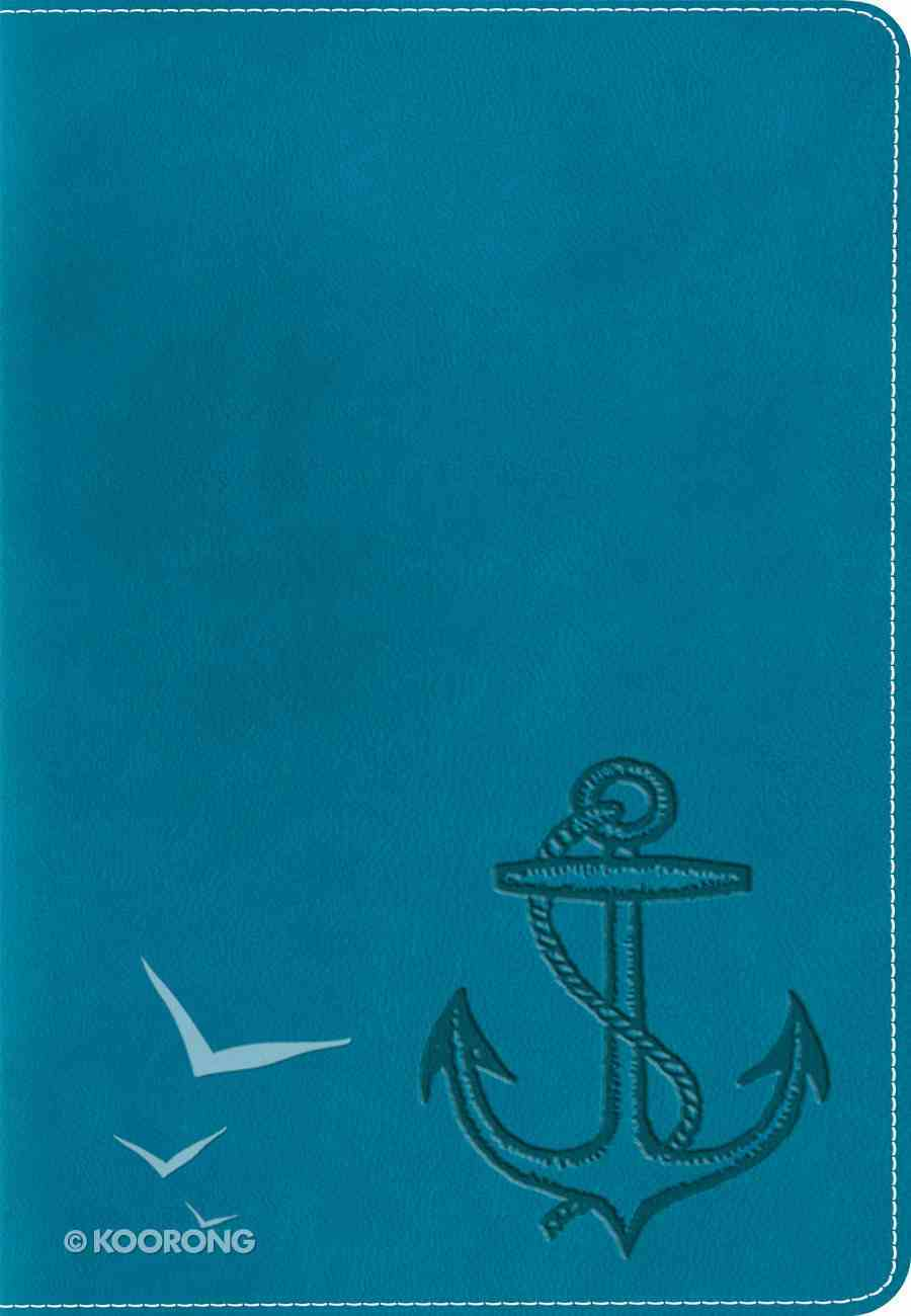 ESV Kid's Compact Bible Trutone Ocean Anchor Imitation Leather