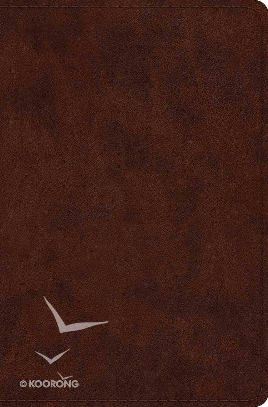 ESV Compact Bible Trutone, Brown (Black Letter Edition) Imitation Leather