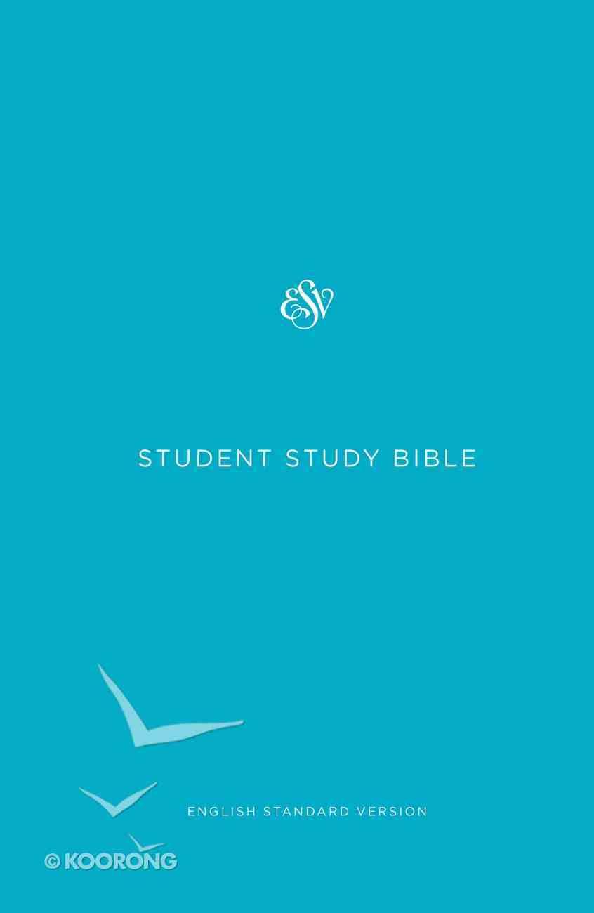 ESV Student Study Bible Light Blue (Black Letter Edition) Hardback