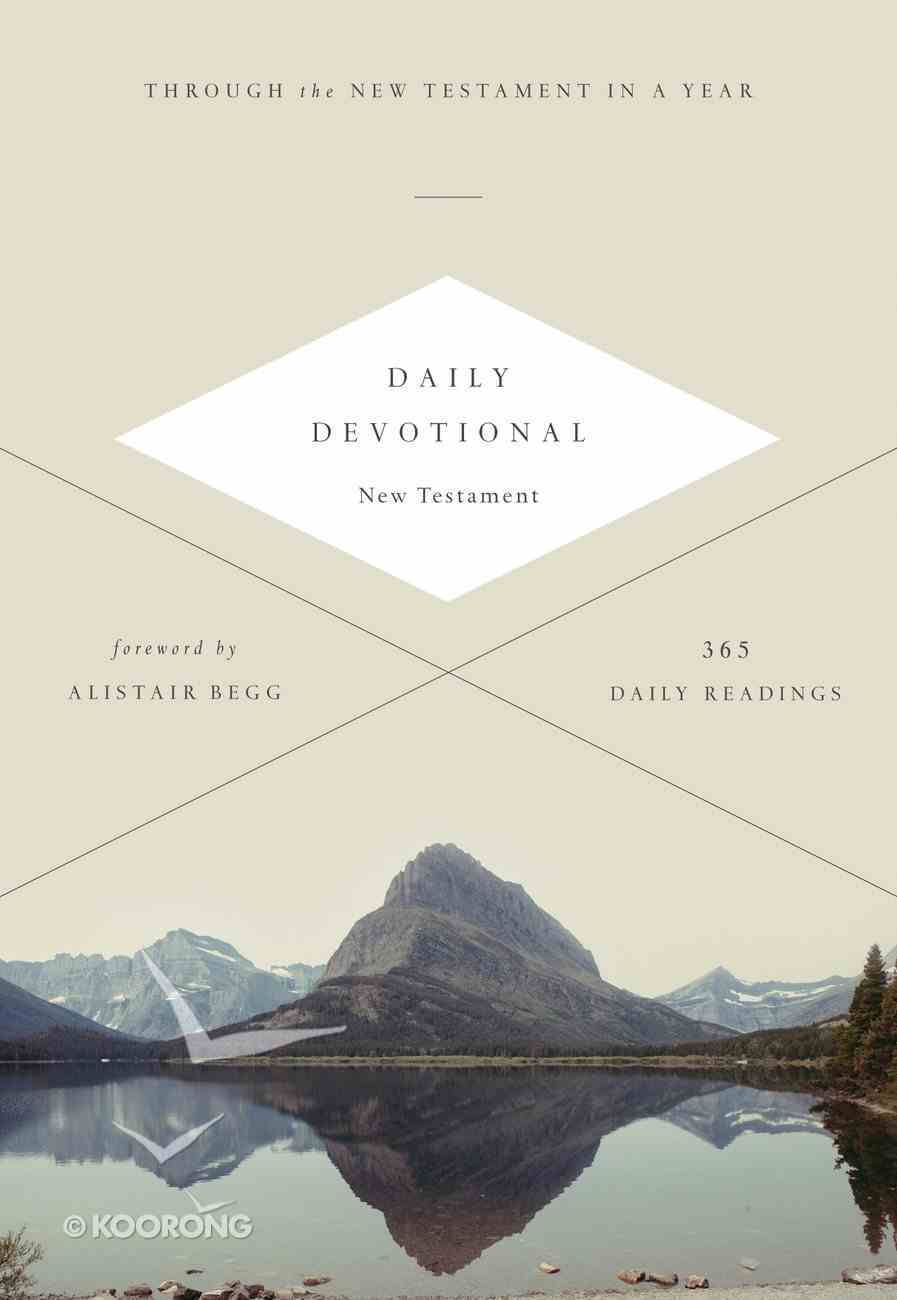 ESV Daily Devotional New Testament (Black Letter Edition) Paperback