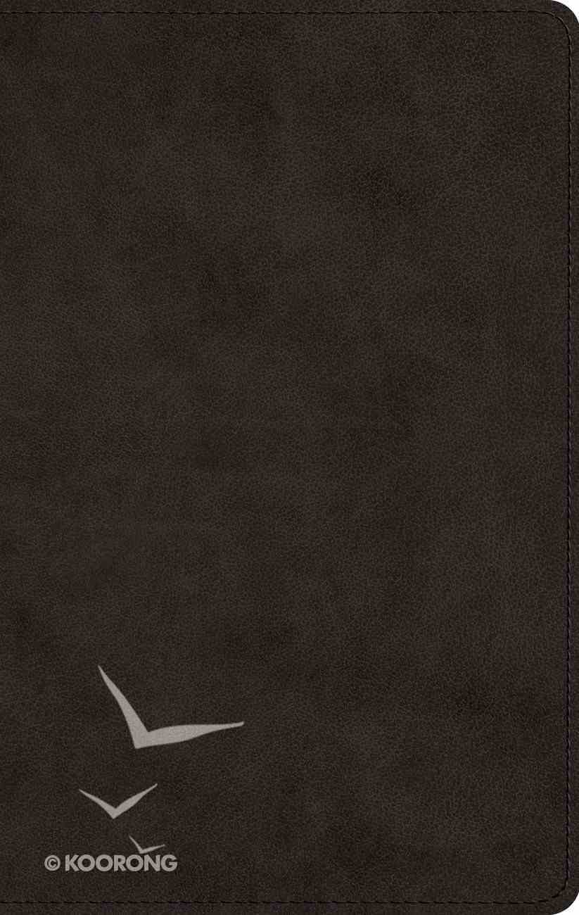 ESV Men's Devotional Bible Black (Black Letter Edition) Imitation Leather
