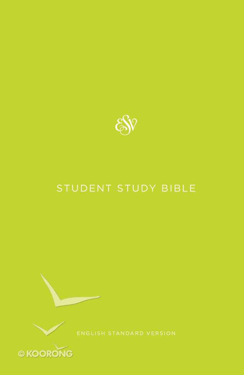 ESV Student Study Bible Green Hardback