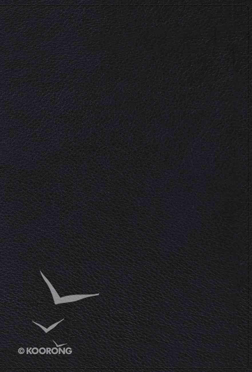 ESV Reader's Gospels (Black Letter Edition) (Matthew, Mark, Luke, John) Genuine Leather