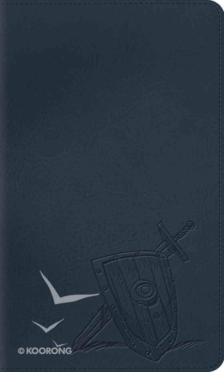 ESV Thinline Bible Trutone Slate Armor Red Letter Edition Imitation Leather