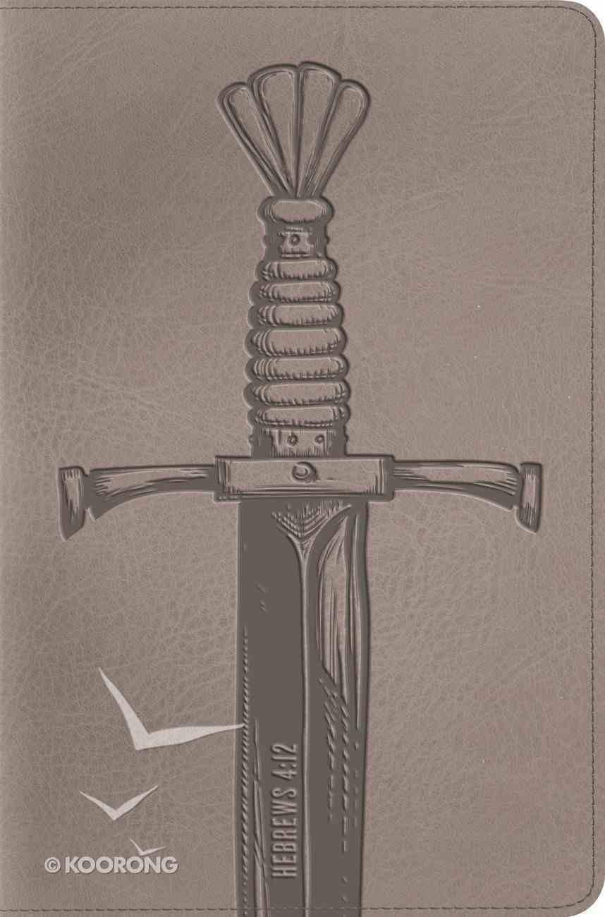 ESV Compact Bible Trutone Silver Sword (Black Letter Edition) Imitation Leather