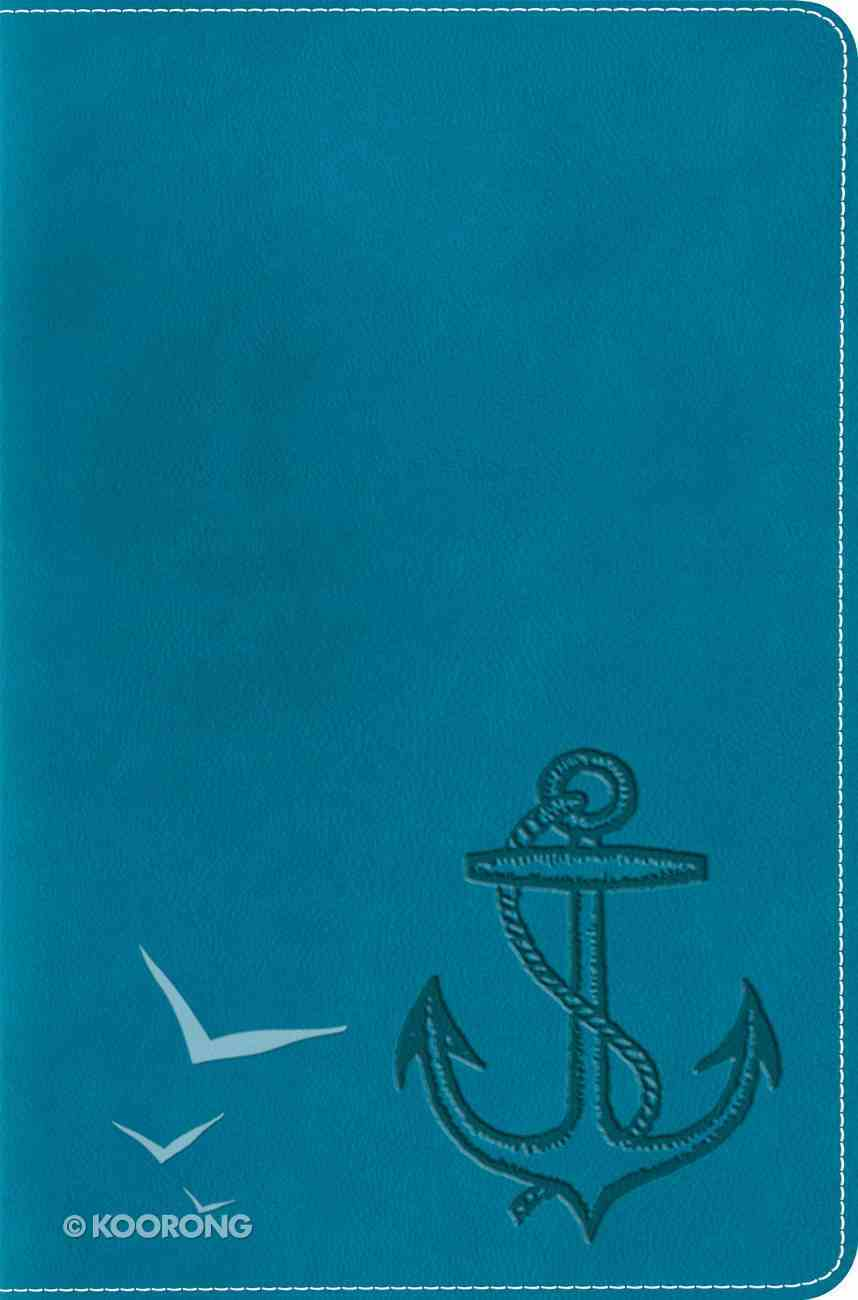 ESV Compact Bible Trutone Ocean Anchor Imitation Leather
