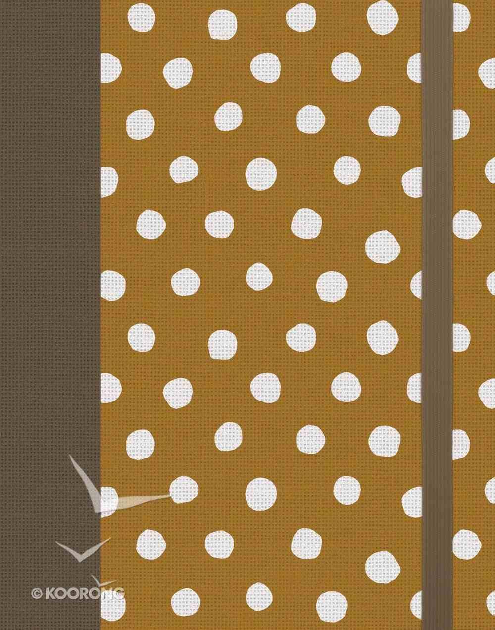 ESV Single Column Journaling Bible Polka Dots (Black Letter Edition) Hardback