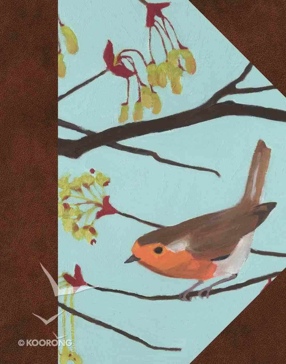 ESV Single Column Journaling Bible English Robin (Black Letter Edition) Hardback