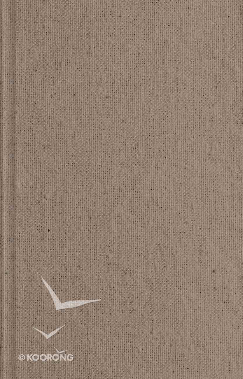ESV Large Print Thinline Reference Bible Tan (Black Letter Edition) Hardback