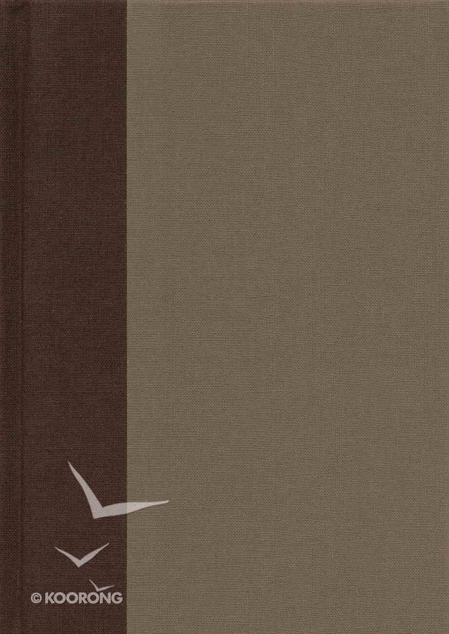 ESV Study Bible Large Print Timeless (Black Letter Edition) Hardback