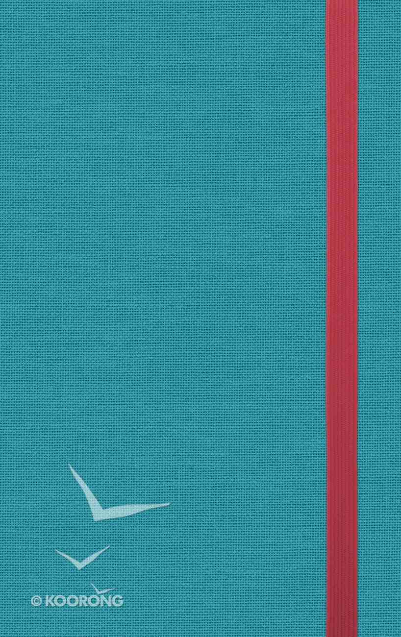 ESV Thinline Bible Turquoise Red Letter Edition Hardback