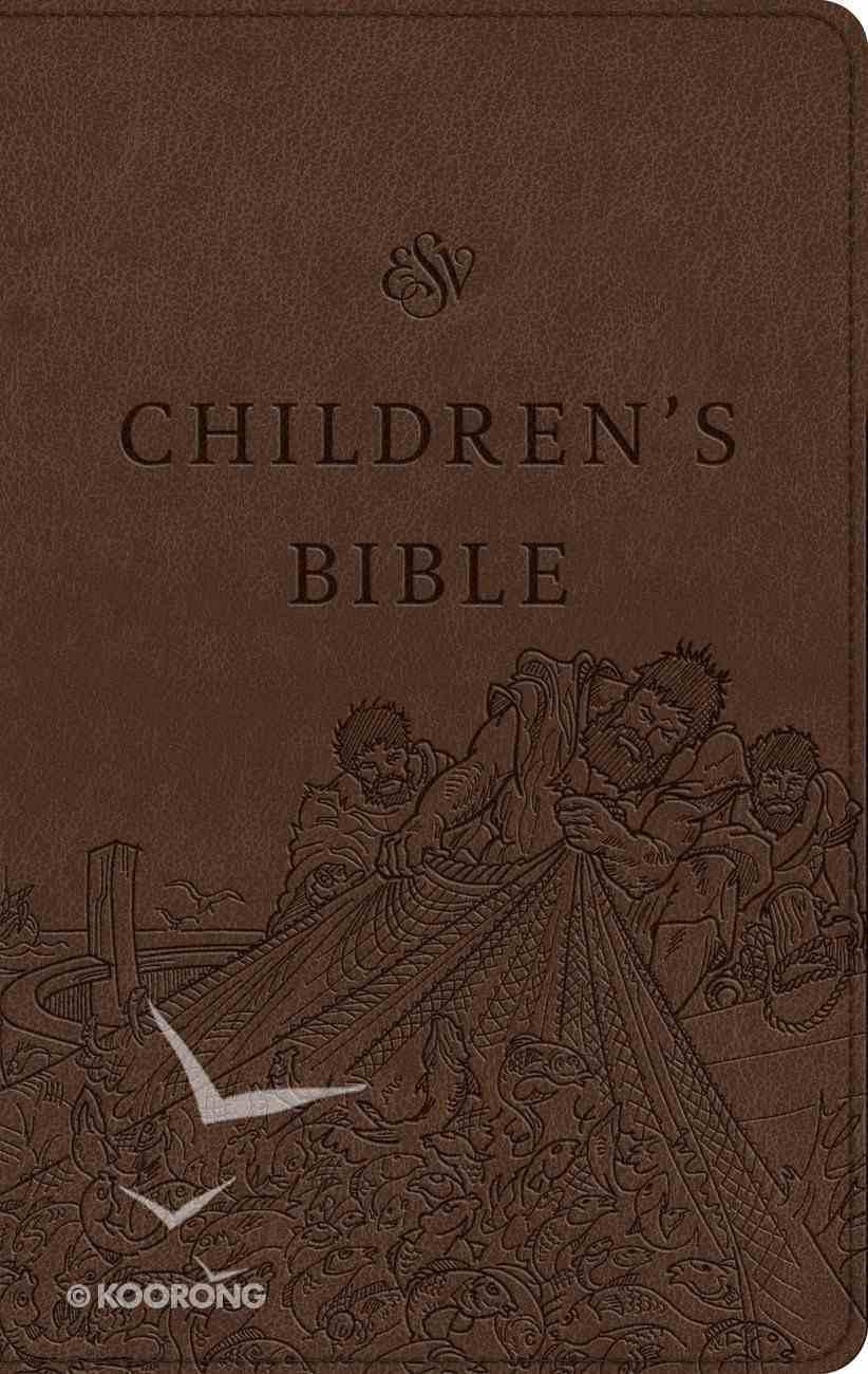 ESV Children's Bible Trutone Brown (Black Letter Edition) Imitation Leather