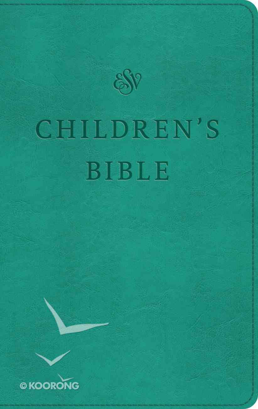 ESV Children's Bible Trutone Teal (Black Letter Edition) Imitation Leather