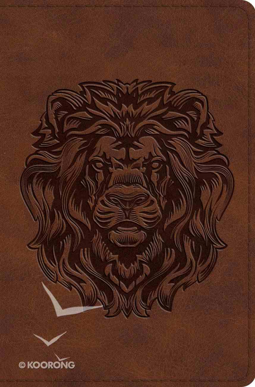 ESV Compact Trutone Royal Lion (Black Letter Edition) Imitation Leather