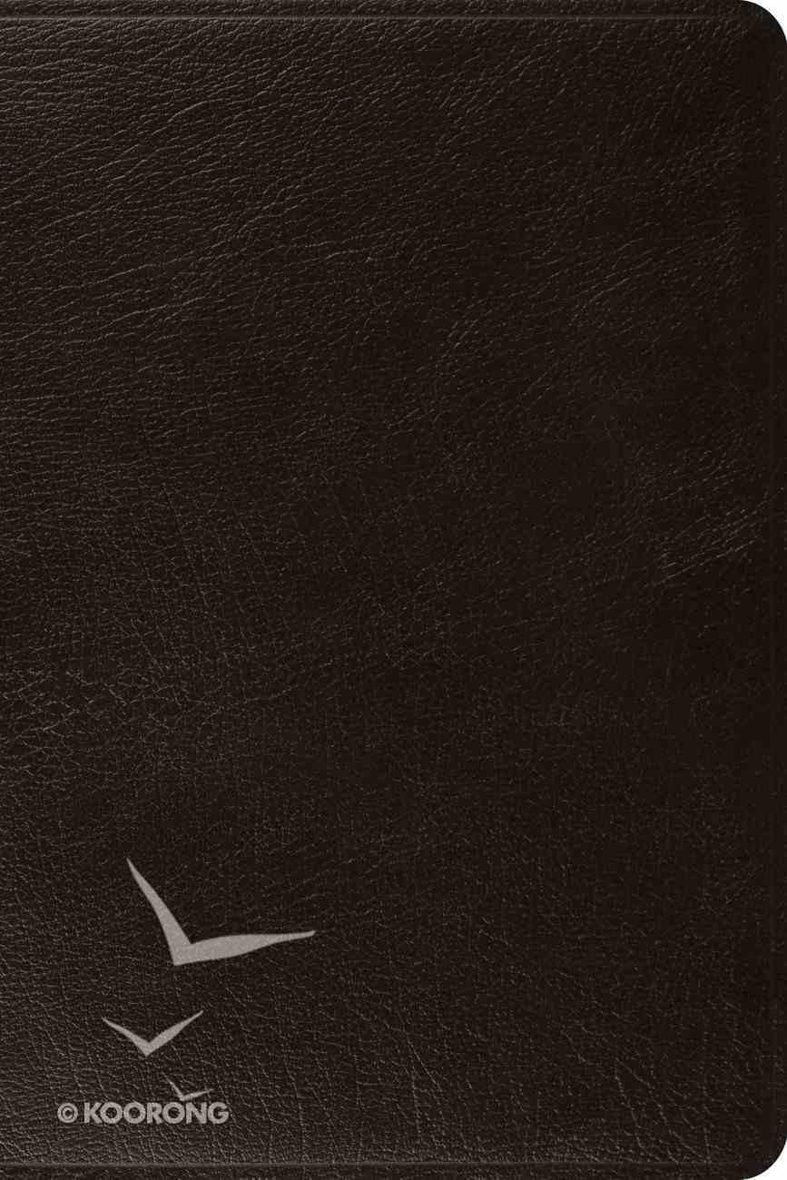 ESV Pastor's Bible Black (Black Letter Edition) Genuine Leather