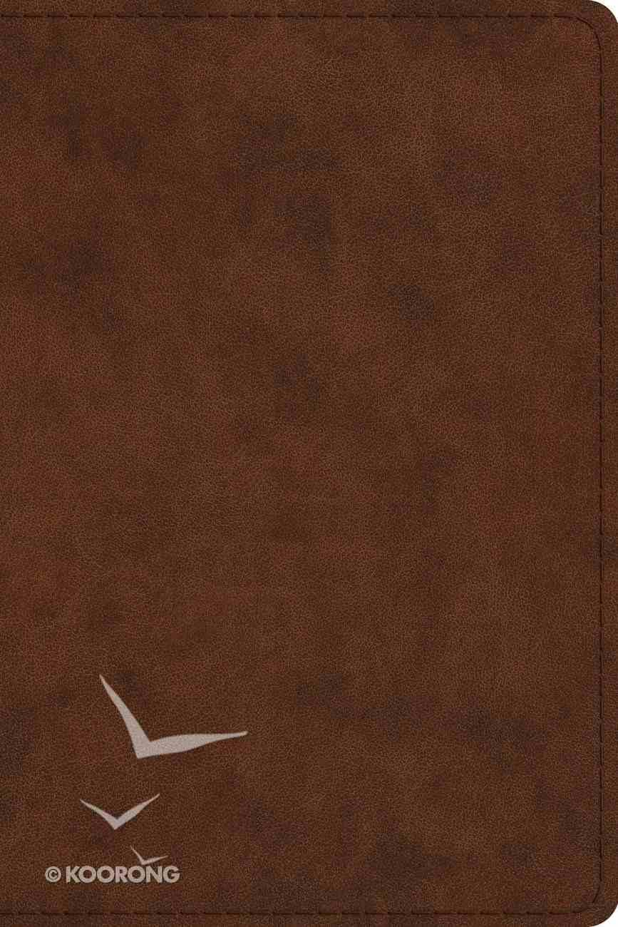 ESV Pastor's Bible Trutone Brown (Black Letter Edition) Imitation Leather