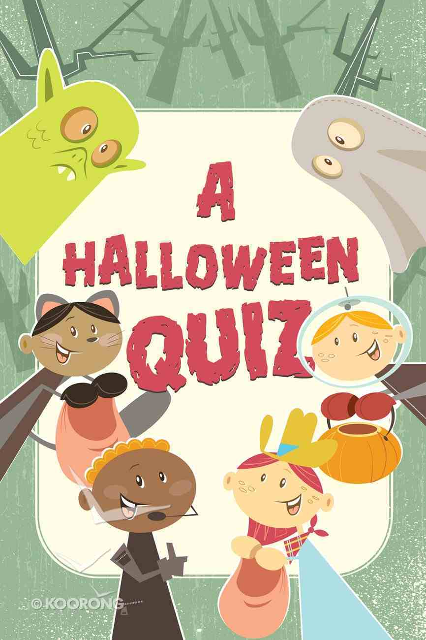Halloween Quiz, a ESV (Redesign) (25 Pack) Booklet