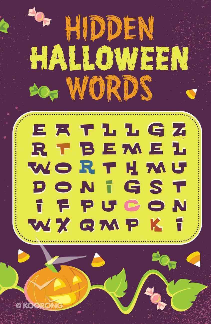 Hidden Halloween Words (25 Pack) Booklet