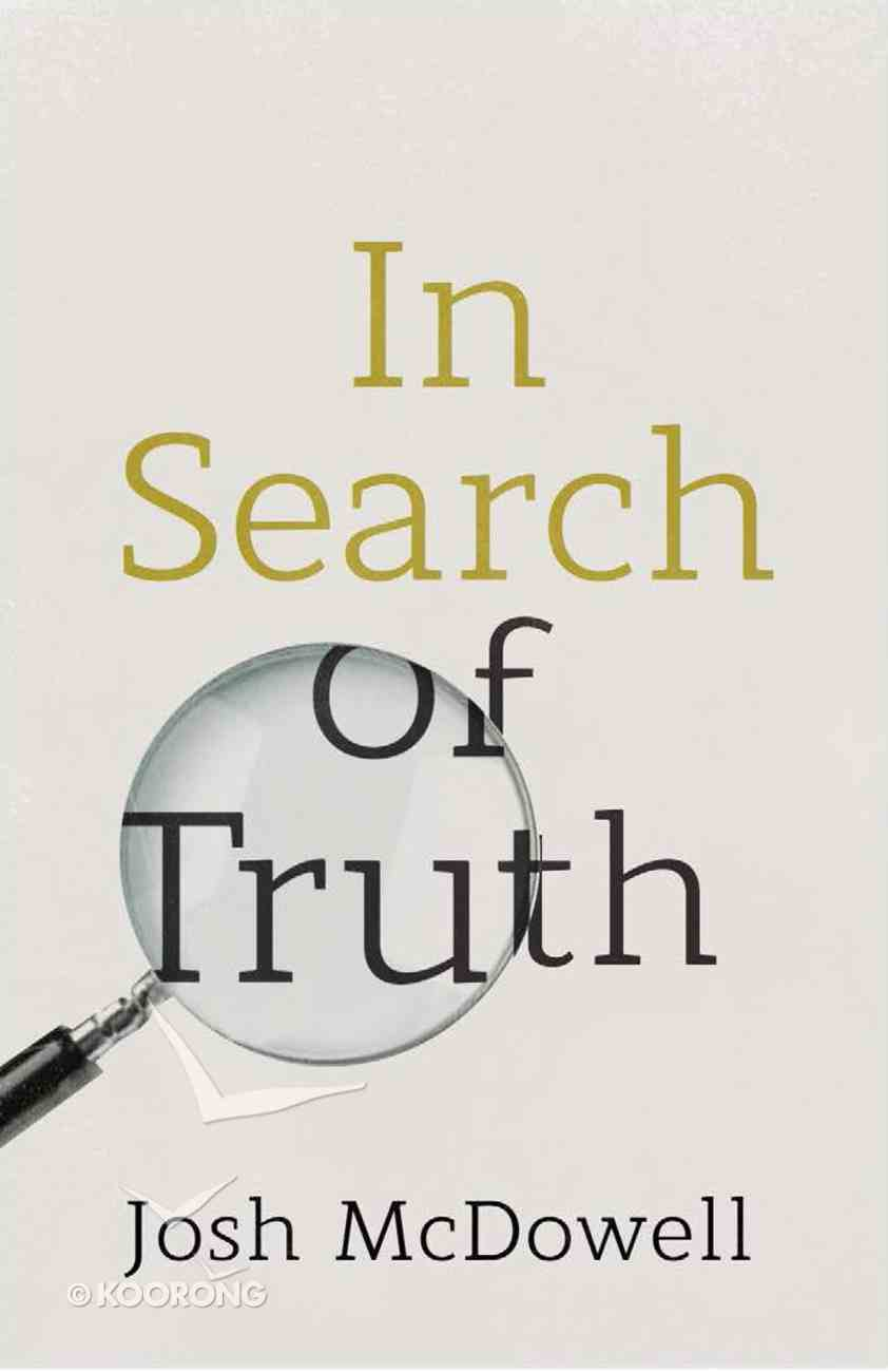 In Search of Truth NIV (Redesign) (25 Pack) Booklet