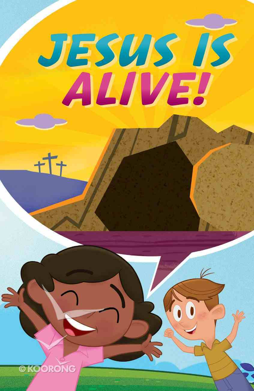 Jesus is Alive....Happy Easter ERV (25 Pack) Booklet