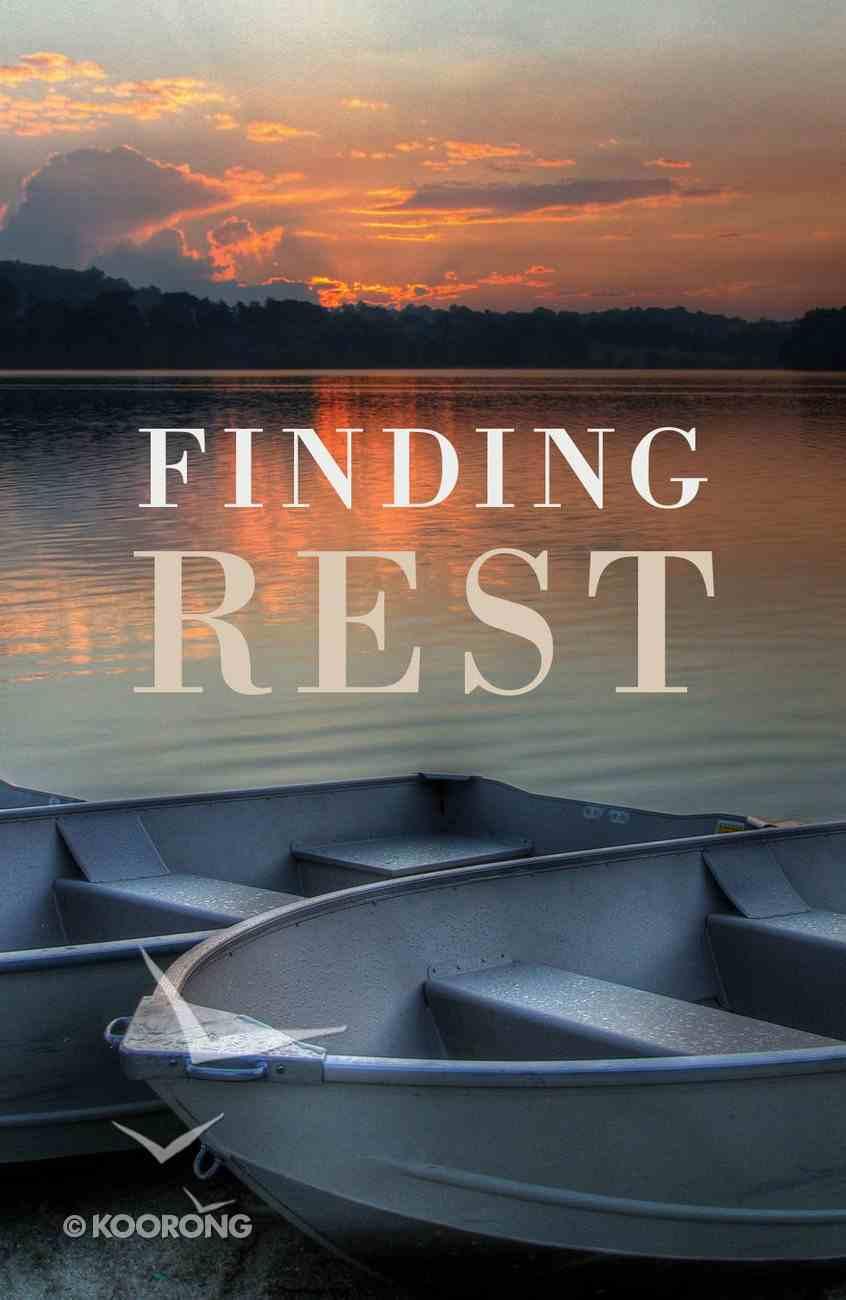 Finding Rest (ESV) (25 Pack) Booklet