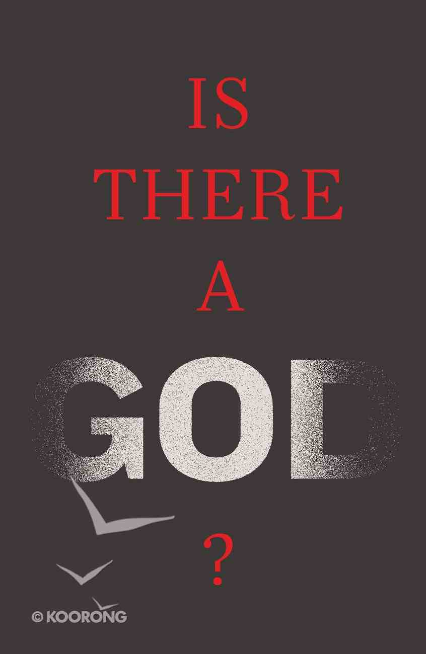 Is There a God? (ESV) (25 Pack) Booklet