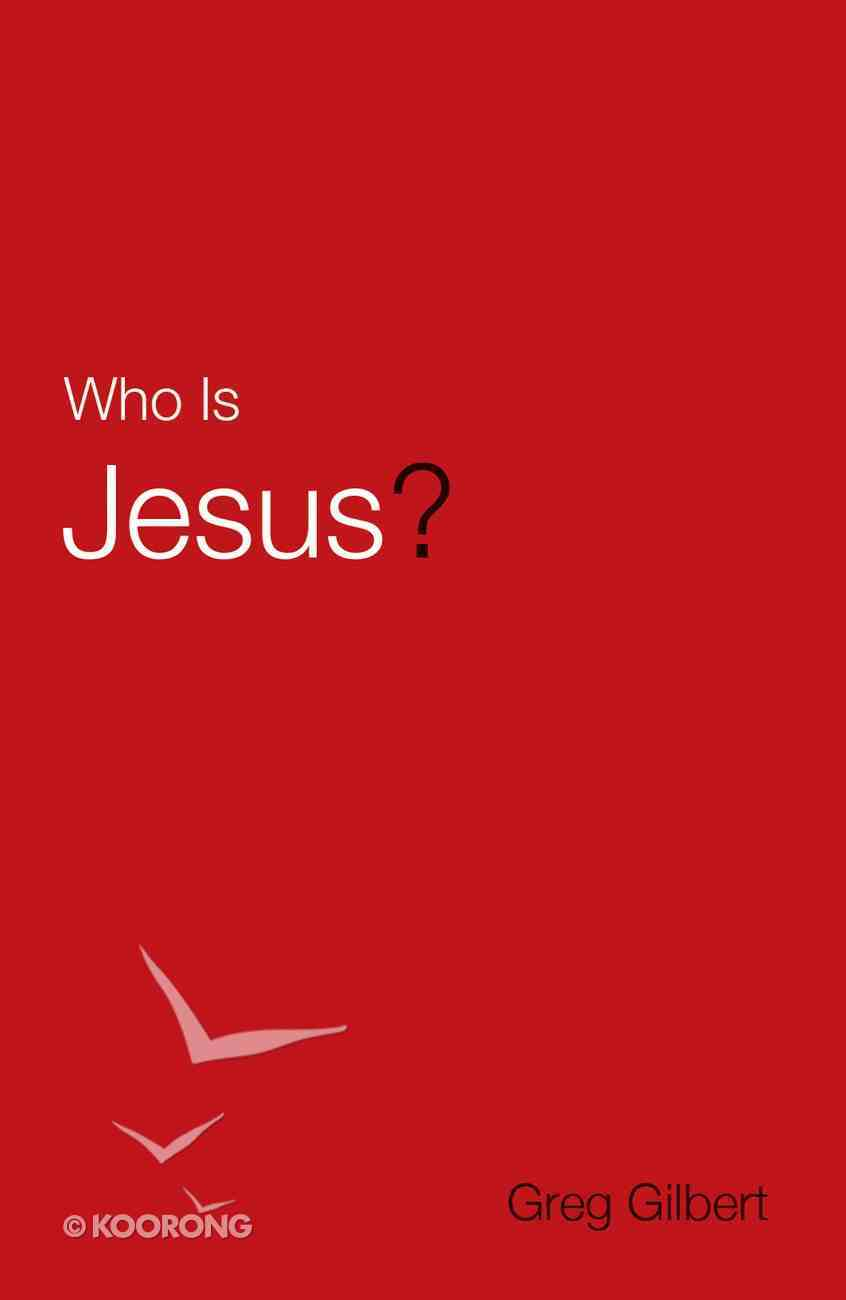 Who is Jesus? (Pack Of 25) Booklet