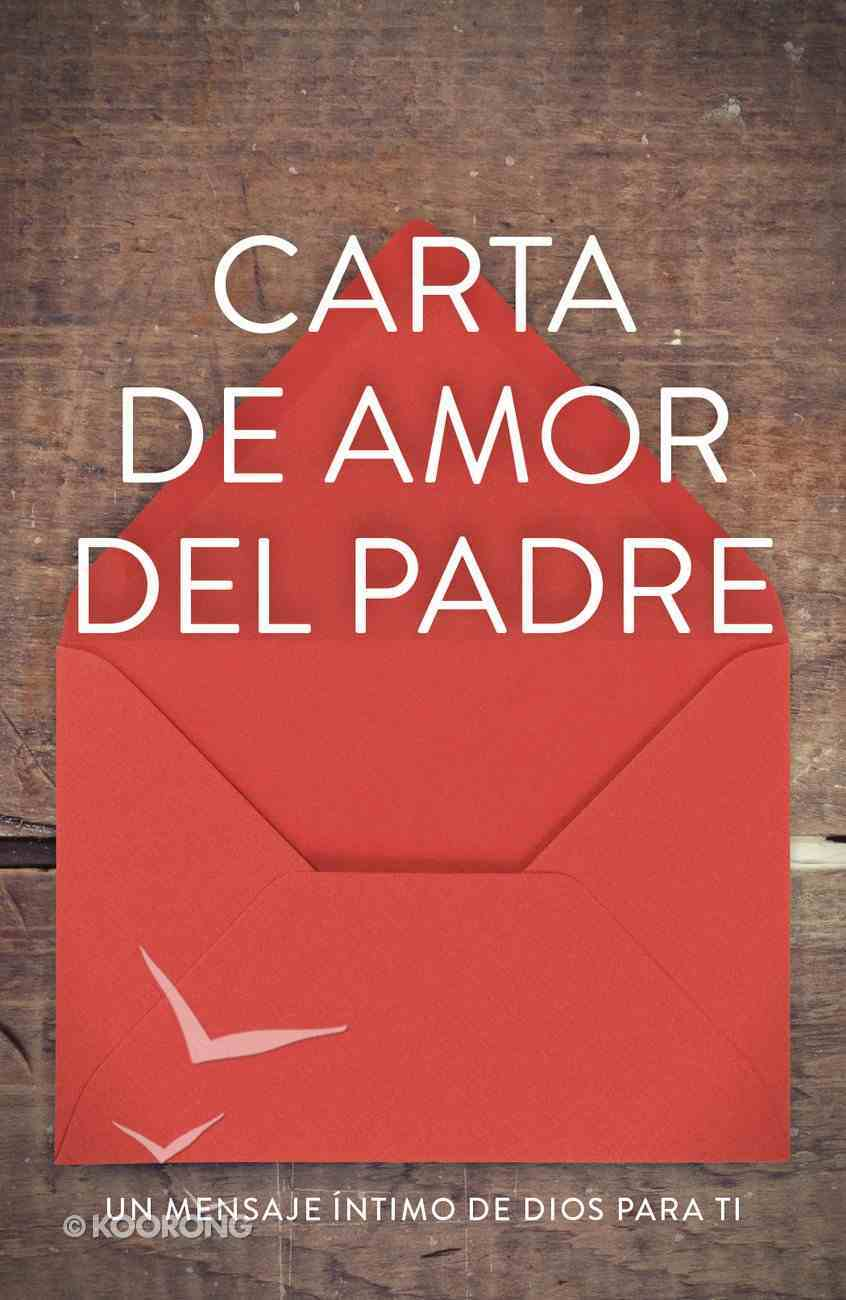 Father's Love Letter (Spanish, Pack Of 25) Booklet
