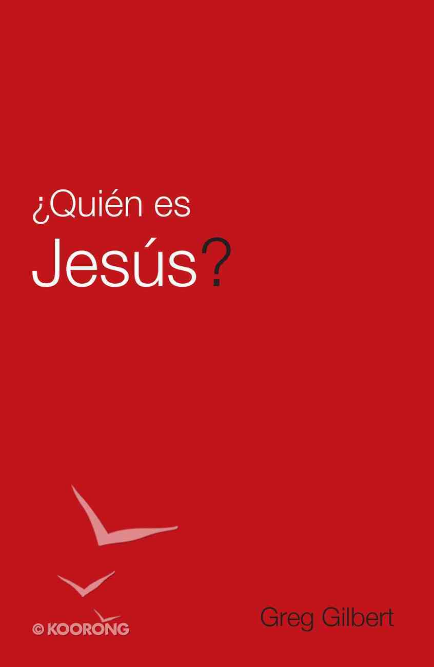 Who is Jesus? (Spanish, Pack Of 25) Booklet