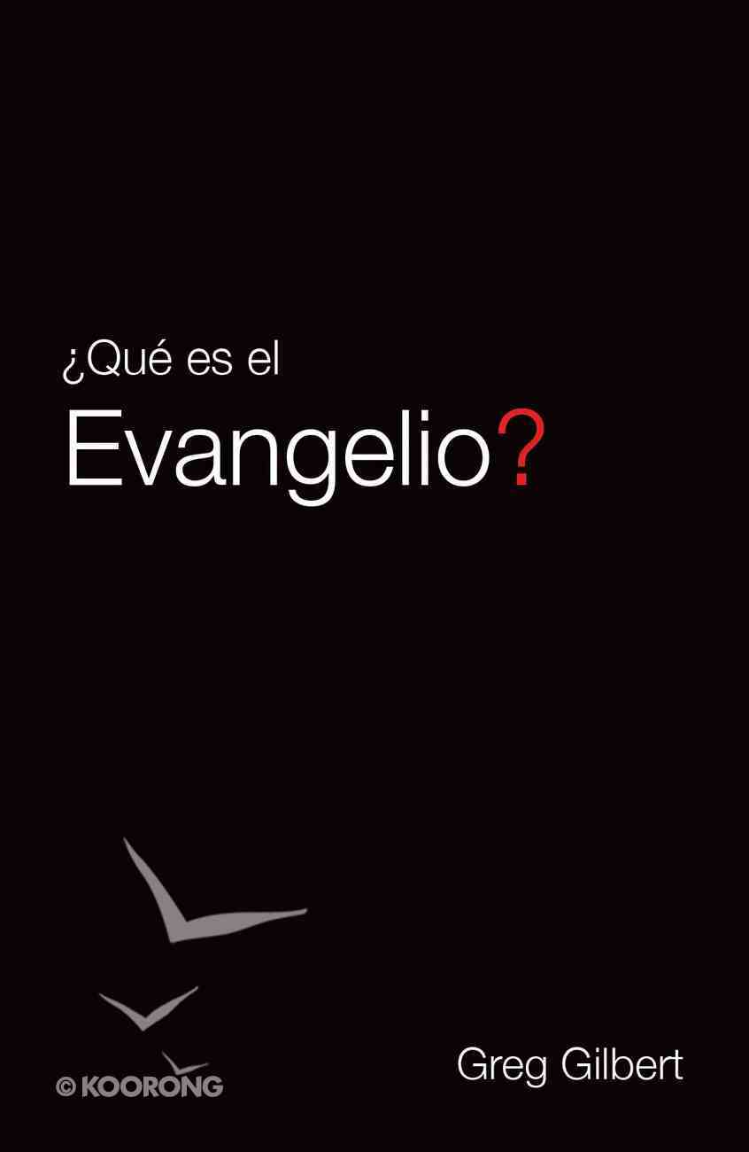 What is the Gospel? (Spanish, Pack Of 25) Booklet