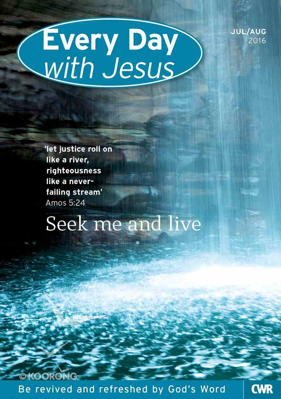 Std 2016 #04: Jul-Aug (Every Day With Jesus Series) Paperback