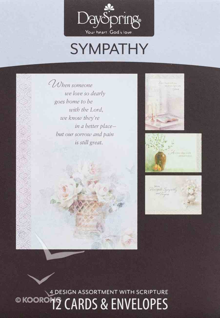 Boxed Cards Sympathy: Comfort and Peace Box