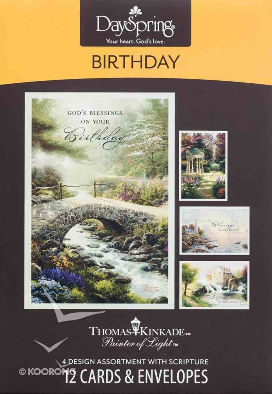 Boxed Cards Birthday: Thomas Kinkade - Painter of Light Box