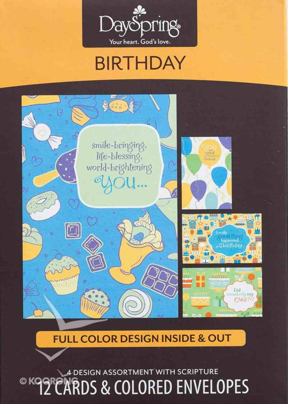 Boxed Cards Birthday: Great Celebrations Box
