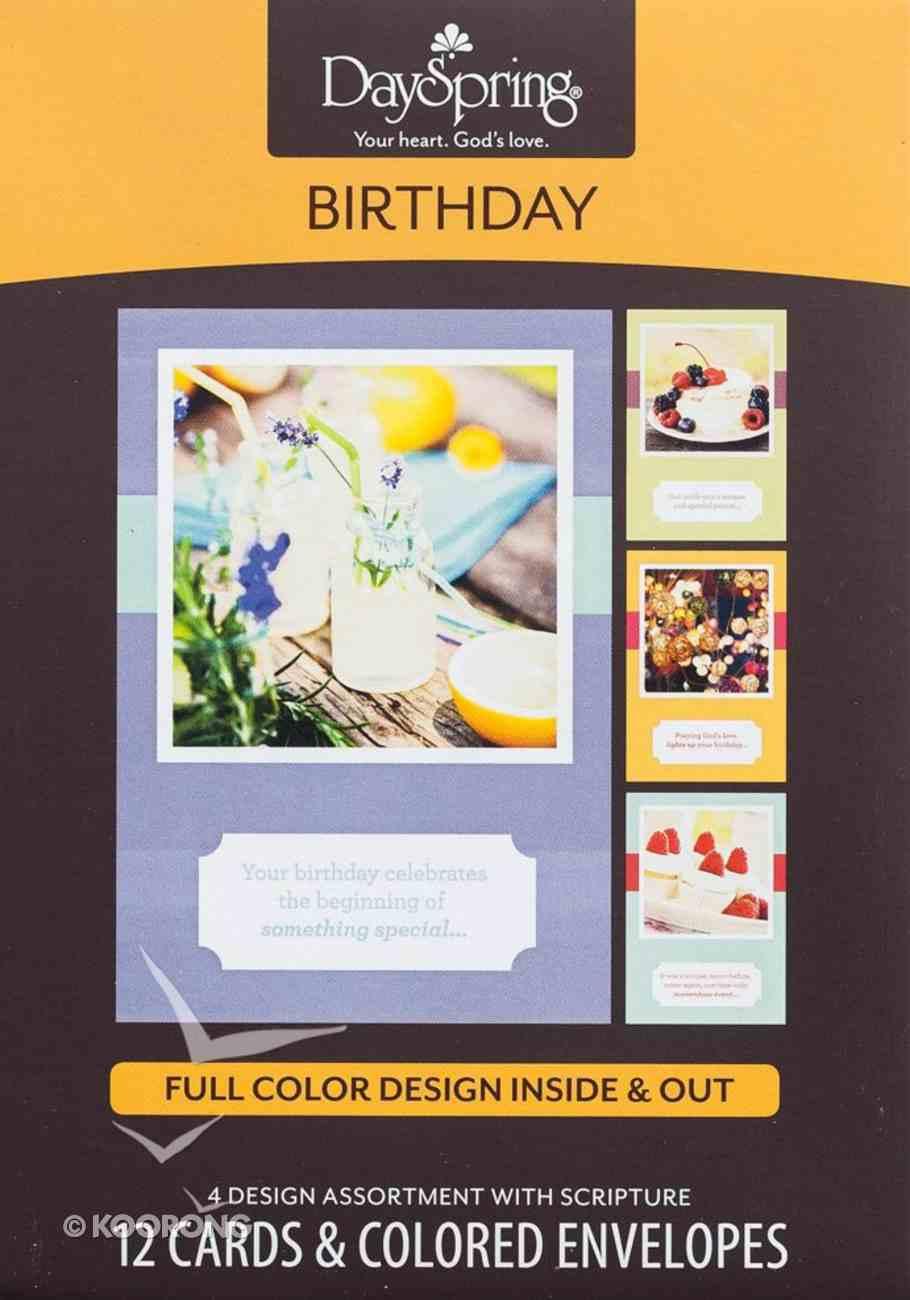 Boxed Cards Birthday: Birthday Snapshots Box