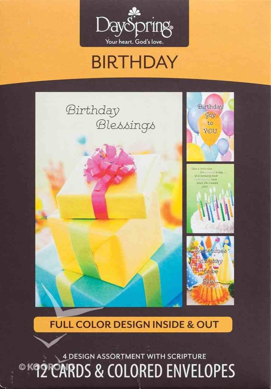 Boxed Cards Birthday: Blessed & Bright Box